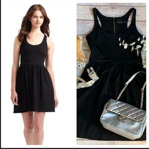 Cynthia Rowley Black Haltered Fit n Flare Dress